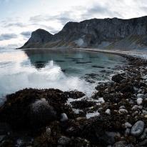 Один з пляжів на Værøy