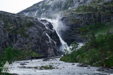 Водоспад Nykkjesøyfossen (60 м)