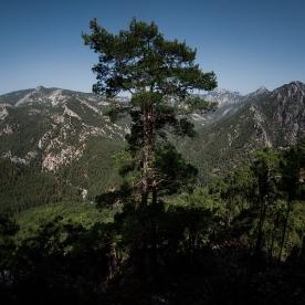 Вид на гори над каньйоном Гьойнюк